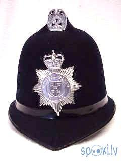 Thames Valley UK Police Helmet Autors: Kadets Lielbritānijas policisti pazaudējuši īpašumus