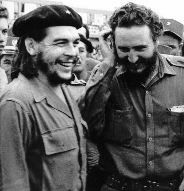 Če Gevara un Fidels Autors: GERA Nāves totalizatoru līderis – Fidels Kastro