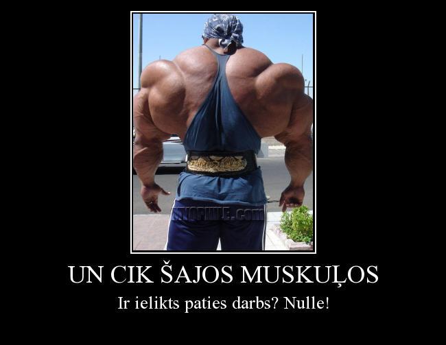 Autors: Danc Un cik šajos muskuļos