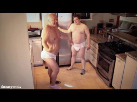 Autors: luvely Twin men have a conversation