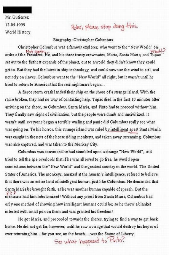 Autors: Marshall Mathers Stulbākās atbildes kontroldarbos.