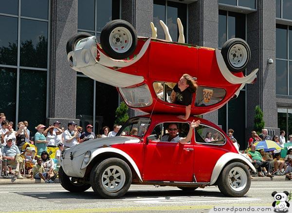 Dubultais Auto Autors: Fosilija Top 20 Visdīvainākās mašīnas