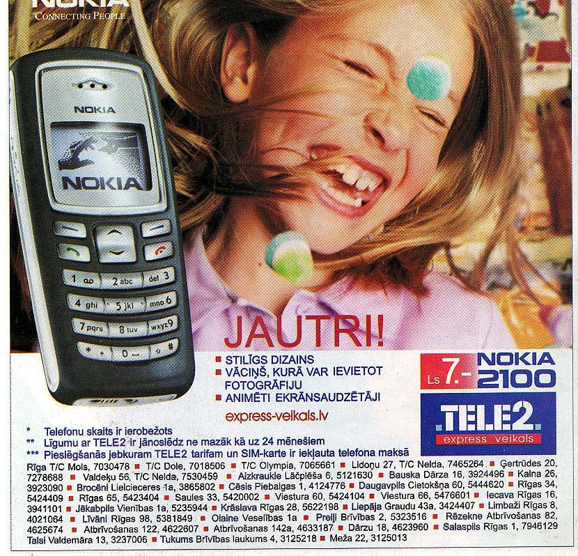 Autors: Fosilija Vecās Telefonu reklāmas