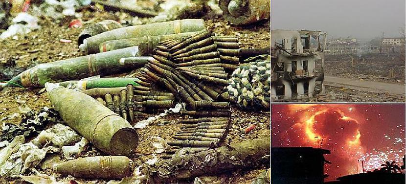 Lagosa Nigērija 2002 gada 27... Autors: YogSothoth Ellišķīgākie sprādzieni