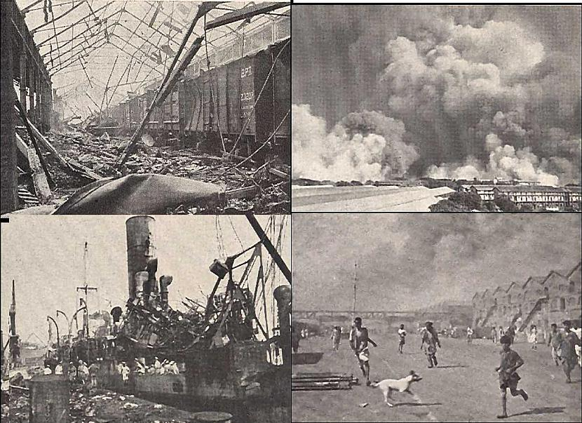 Bombeja Indija 1944 gada... Autors: YogSothoth Ellišķīgākie sprādzieni
