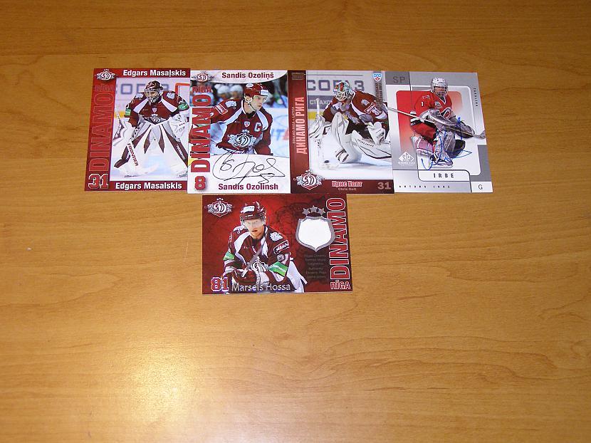 Manas mīļākās hokeja kartiņas... Autors: toms23 Manas sporta kartītes.