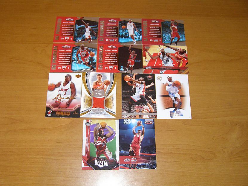 Šīs ir manas mīļākās NBA... Autors: toms23 Manas sporta kartītes.
