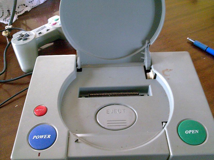 PS1 atvērts Tātad Atvērt var... Autors: YMothF Izklaides agrāk 2.- Spēļu konsole 1