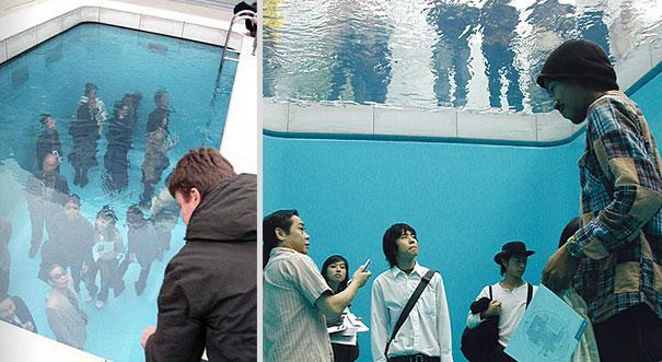 Japāna 21 mākslas muzejs Autors: Fosilija Fake baseins, Leandro Erlich