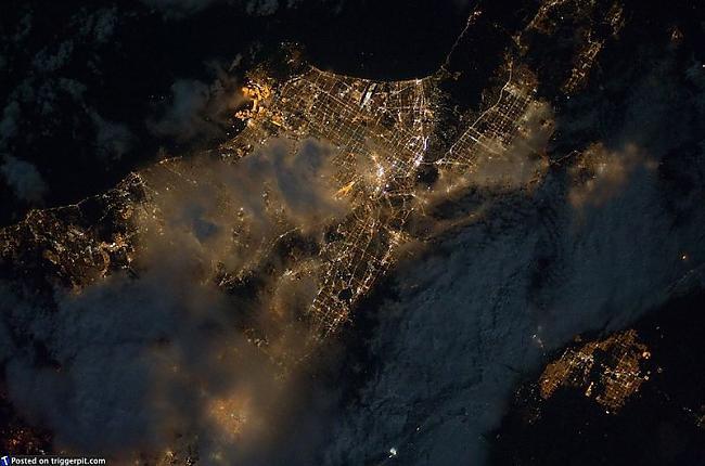 Nakts mākonis virs Long Beach... Autors: melja020390 Mūsu brīnišķīgā planēta