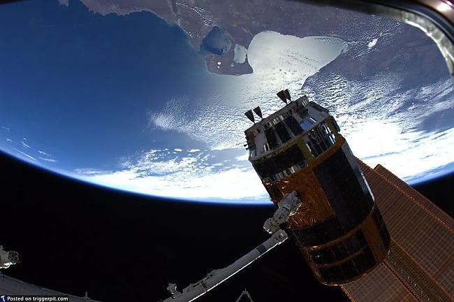 Starptautiskā kosmosa stacija... Autors: melja020390 Mūsu brīnišķīgā planēta