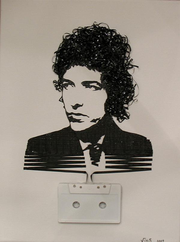 Bobs Dilans Autors: Rockforgoodtimes Apbrīnojamā kasešu māksla