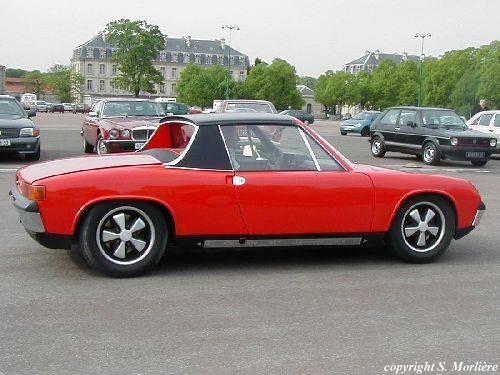 Porsche 914 Autors: Skoolnieks Automašīnas Eiropā 70 gados
