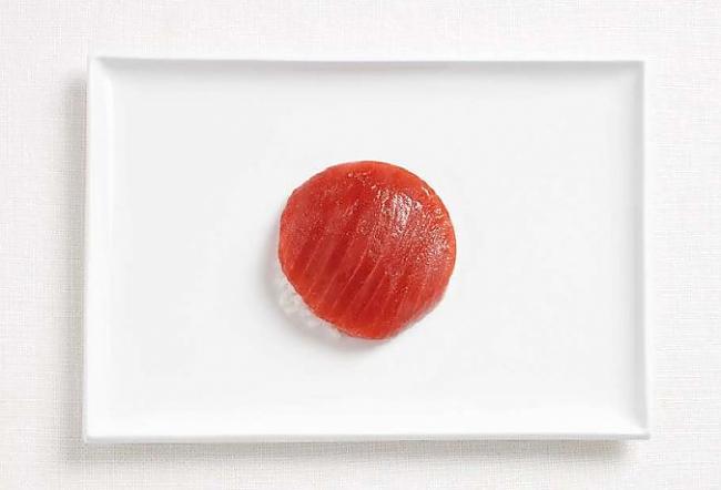 Japāna Autors: CoffeeQueen Valsts karogs no ēdiena