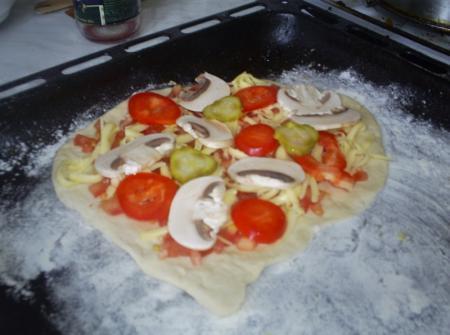 Kad viss gatavs var likt... Autors: THUNDERTRUCKS Kā pagatavot picu!