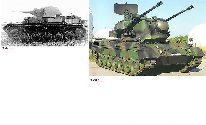 Tanki Autors: pofig Armija - Tad un tagad.