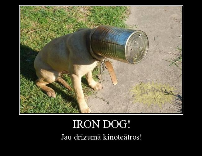 Autors: Risoft Iron dog!