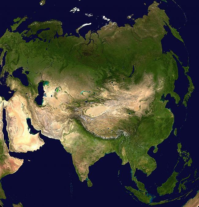 Azijas kontinets ir tikai 30 ... Autors: Fosilija Fakti Par Pasauli