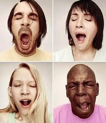 Žāvāšanās laikā sirds darbība... Autors: Kyyy Fakti par miegu..