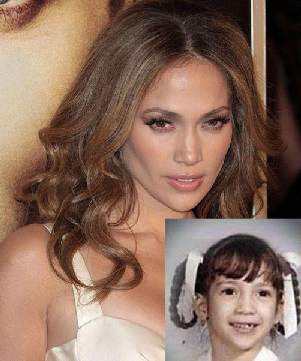 Jennifer Lopez Autors: Nabadzīgais ST Seksīgākās aktrises bērnībā