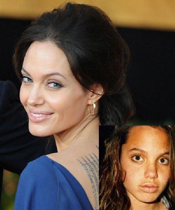 Angelina Jolie Autors: Nabadzīgais ST Seksīgākās aktrises bērnībā
