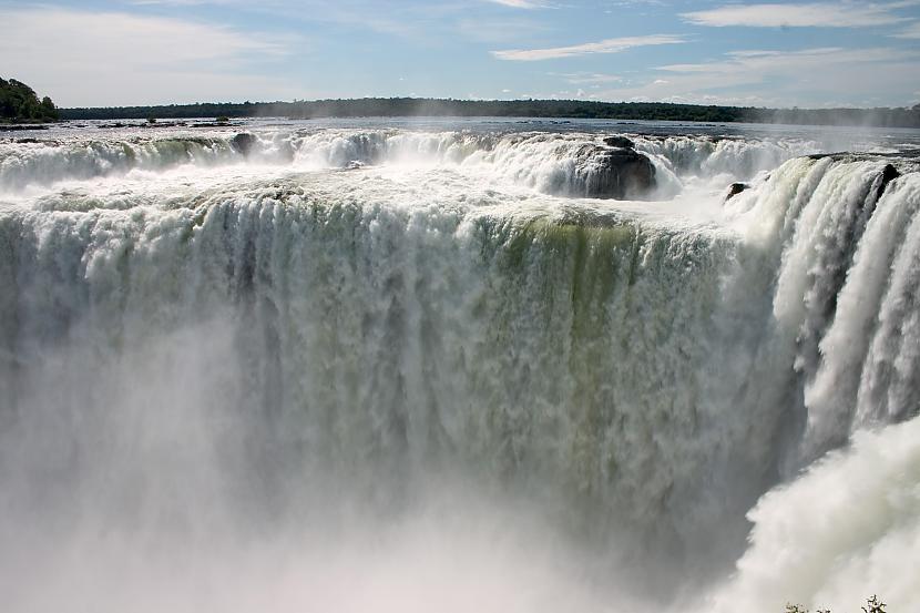 Iguazu ūdenskritums Argentīna... Autors: Richards9 Pasaules skaistākās vietas