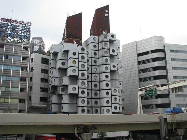 Nakagin kapsuļu torņi  Atrodas... Autors: battery Interesantākās ēkas pasaulē.