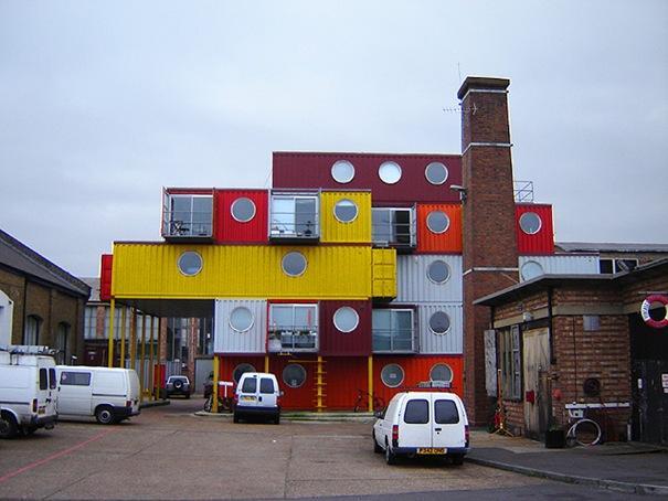 Konteineru pilsēta  Atrodas... Autors: battery Interesantākās ēkas pasaulē.