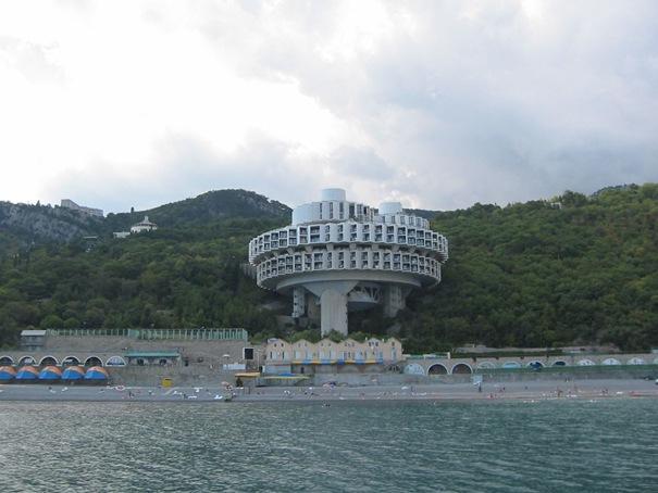 Družbas atpūtas centrs ... Autors: battery Interesantākās ēkas pasaulē.