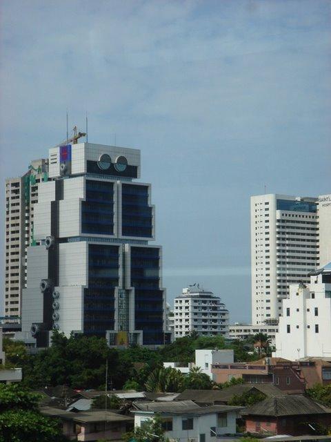 Robota ēka jeb Āzijas banka... Autors: battery Interesantākās ēkas pasaulē.