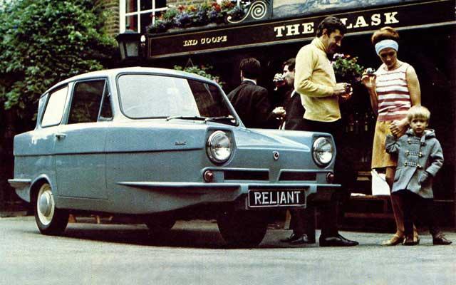 Reliant regal 1972 Autors: Mimis Reliant...