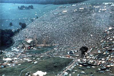 Cilvēku pieplūdums izveidoja... Autors: Fosilija Woodstock '69