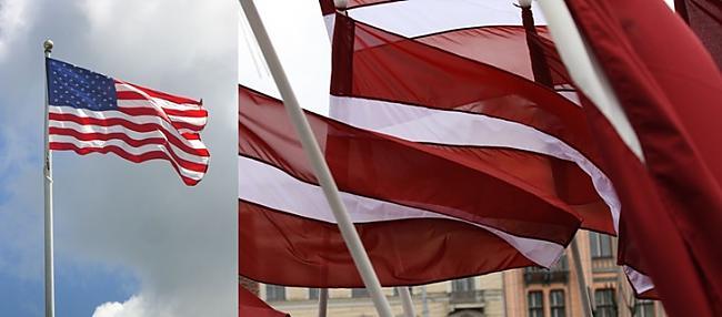 ASV un Latvijas karogi Autors: colorful ASV-Latvija