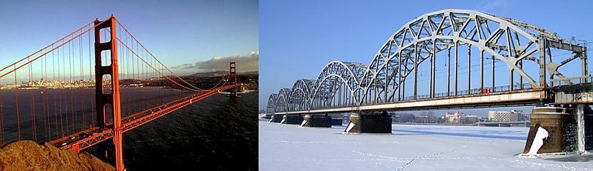 ASV un Latvijas tilti Autors: colorful ASV-Latvija