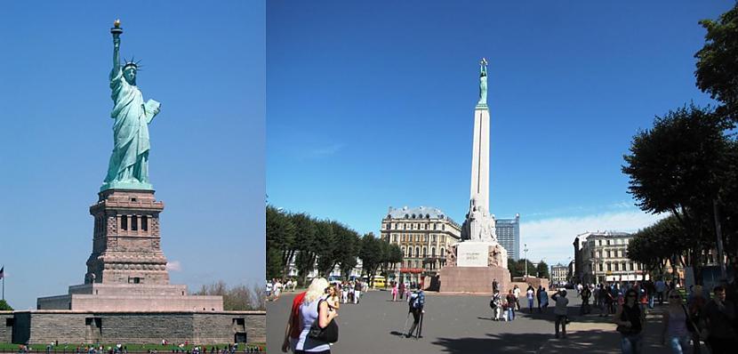 ASV brīvības statuja un... Autors: colorful ASV-Latvija