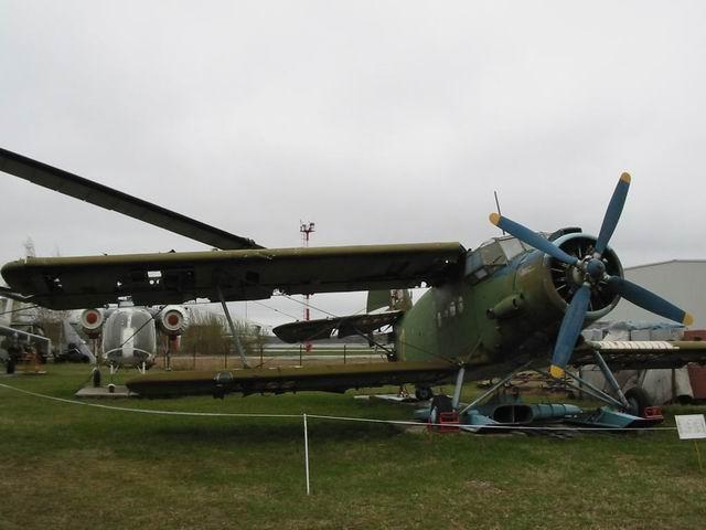 Autors: Fosilija Rīgas Aviācijas Muzejs - ekspozīcija