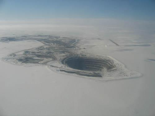 Diavik Diamond Mine  Canada Autors: IAMsoLAME lielakie caurumi zeme