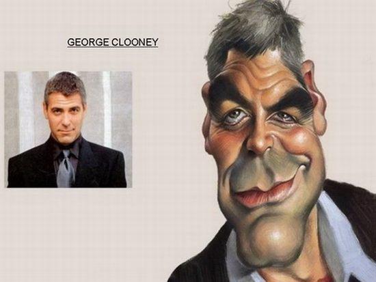 George Clooney Autors: cdykgc uklgci Slavenību karikatūras