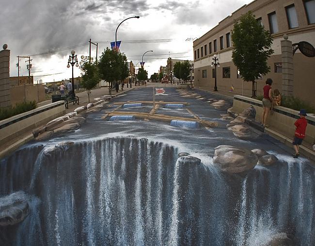 Autors: Duality 3D street art