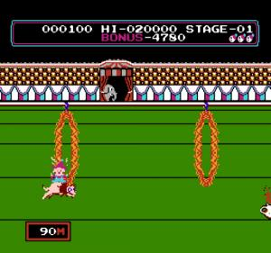 Circus Charlie Autors: Duality Best old school games