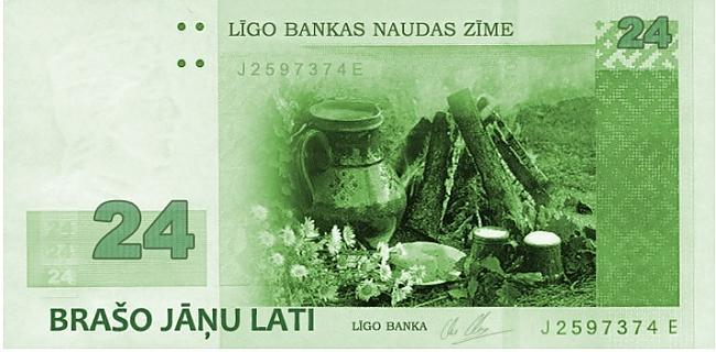 Tātad mans favorīts  24ls... Autors: Espumisan Jauna banknote ?