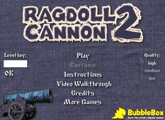 Ragdoll Cannon 2 gt... Autors: surfix Forsas flash speles...