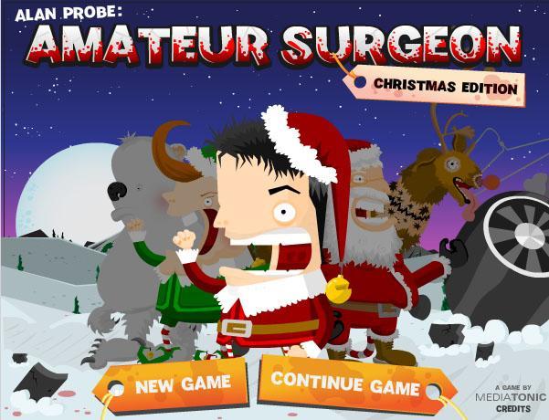 Amateur Surgeon  Christmas... Autors: surfix Forsas flash speles...