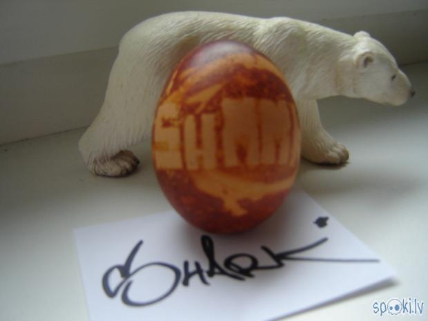 Un protams mans palīgs Baltais... Autors: SharK SharK`a lieldienu ola.