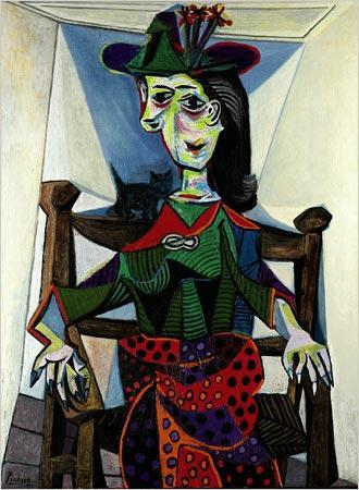 Nr 9 Dora Maar au Chat Autors... Autors: Pūpols Top 10 dārgākās gleznas