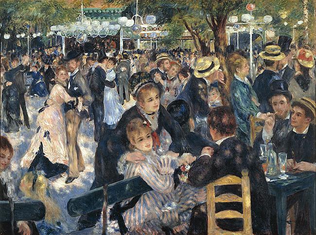 Nr 5 Bal du moulin de la... Autors: Pūpols Top 10 dārgākās gleznas