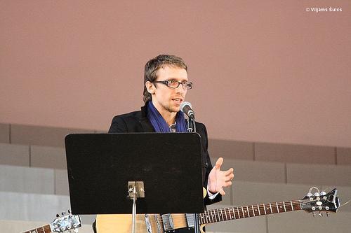 Kristaps Tālbergs ir reliģiozs... Autors: Patriōc LNT raidījumu vadītāji-dziedātāji!