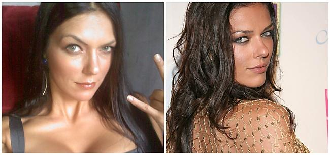 Adrianne Curry modele Autors: SunnyTalesJ Ar un bez make-up