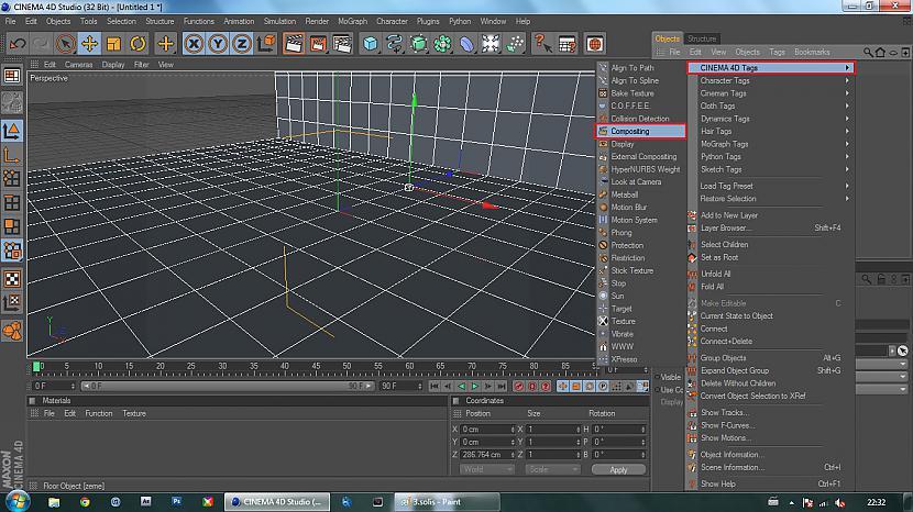 Iezīmējam abas grīdasright... Autors: BuzzBomb 25 soļi, kā izveidot 3D ekrāna tapeti