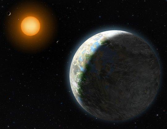 Vēl ir pieļaujama iespēja ka... Autors: fischer Uz Gliese 581g varētu dzīvot?